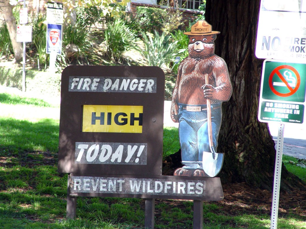 Don't Smoke in Griffith Park