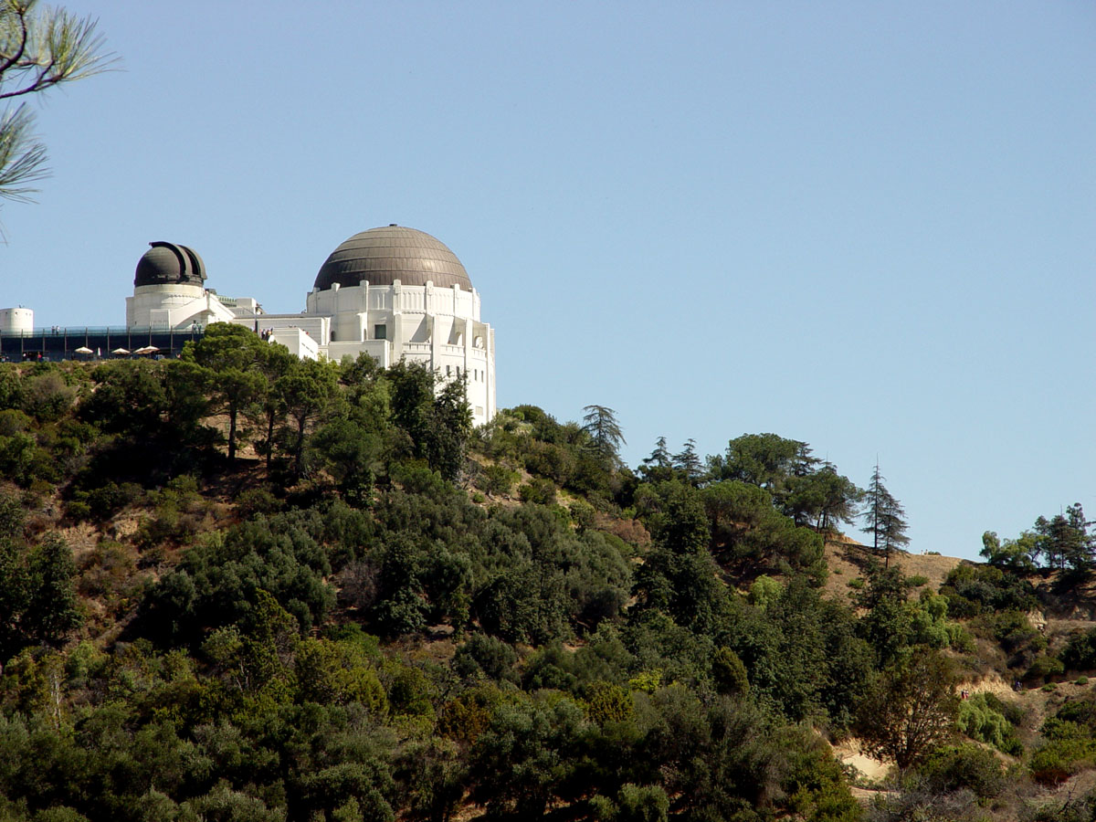 Zooming in on the Griffith Park Observatory
